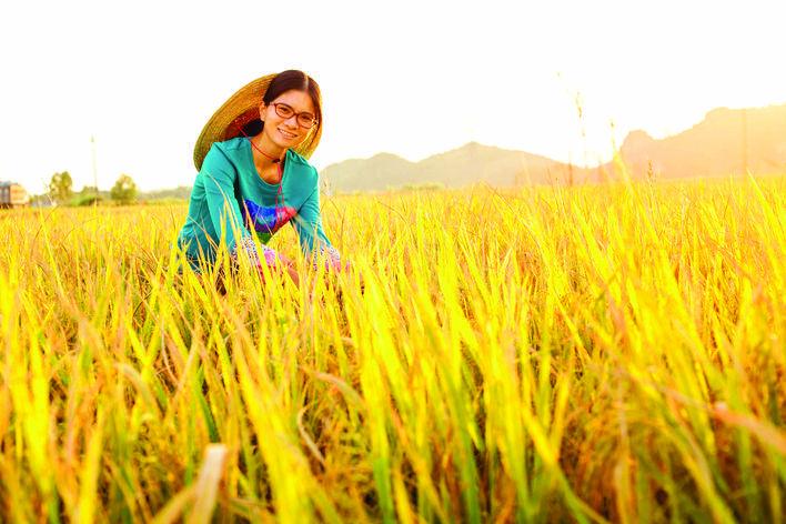 李慧文是新时代的新农人。